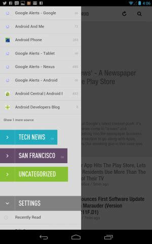 don't fret: there's another mobile rss reader for you out