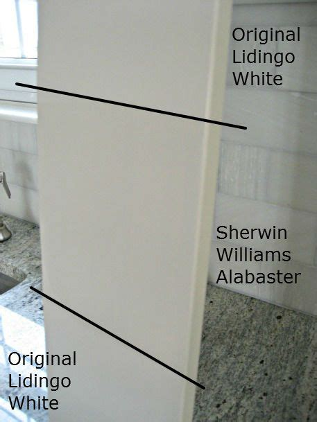 white paints to match ikea lidingo cabinets white kitchen colors sew and shades