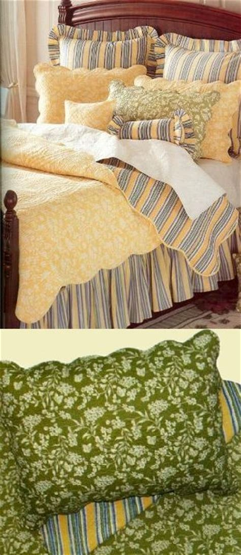 Green Toile Bedding by Green Toile Quilt And Bedding