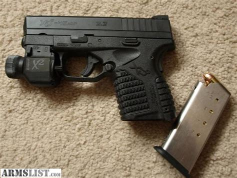 armslist for sale springfield xds 45 insight x2