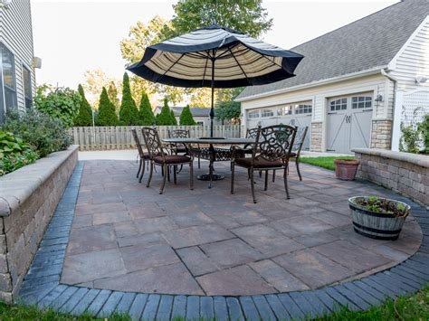 paver patio designs moscarino landscape design