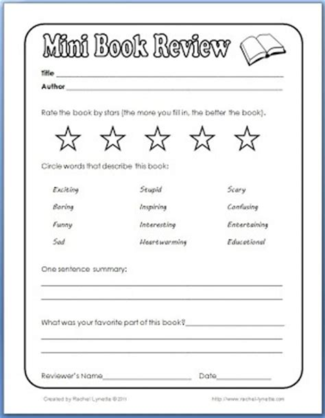 Book Review Card Template by Best 25 Book Review Template Ideas On Writing