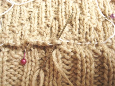 grafting in knitting grafting knitting how did you make this luxe diy