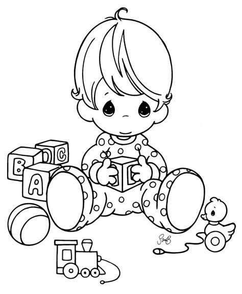 coloring pages baby baby coloring pages bestofcoloring com