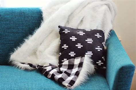 diy blanket 21 plaid inspired diy gifts