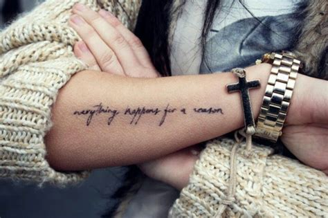 everything happens for a reason tattoos everything happens for a reason tattoos