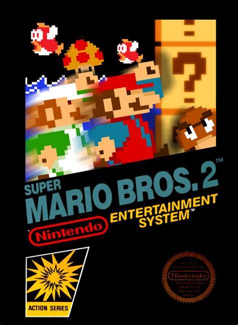 Custom Graphic Tshirt Mario Bros Warp Zone smb 2 the lost levels nes box version 2 by cphthegamer on deviantart