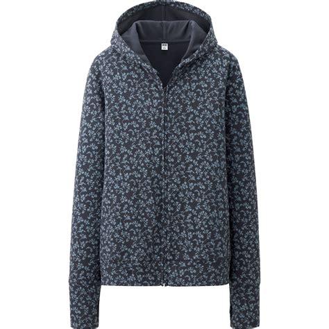 Uniqlo Sweatshirt Vintage Sweater 1 uniqlo uv cut printed sleeve fullzip hoodie in blue navy lyst