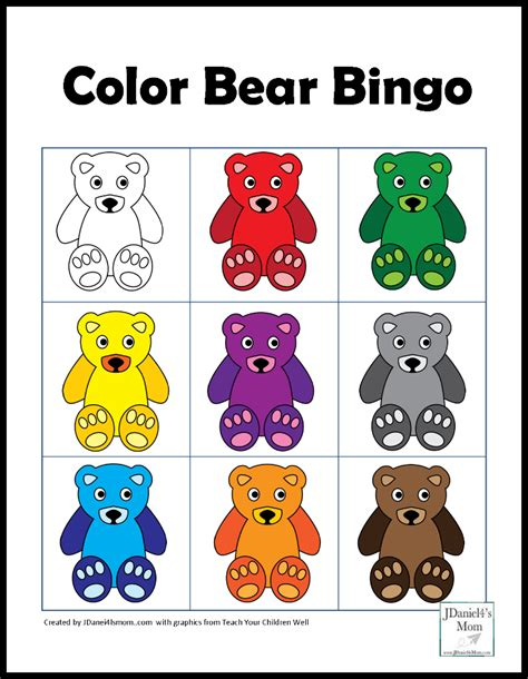 bears of color color for with a theme