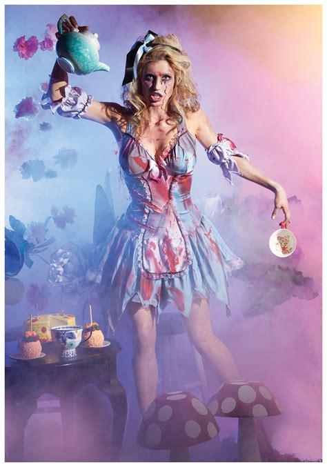 glass zombie alice costume