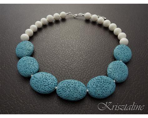 jewelry stones pastel blue lava jewelry