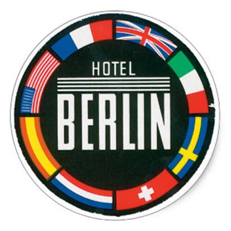 Koffer Sticker Berlin by Koffer Sticker Koffer Pickerl