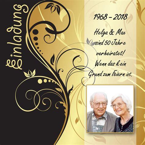 Goldene Hochzeit Einladung by Detailseite Goldenehochzeit Einladungen Dankeskarten Shop