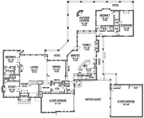 House Plans With Balcony On Second Floor by Second Story Balcony 36185tx 2nd Floor Master Suite