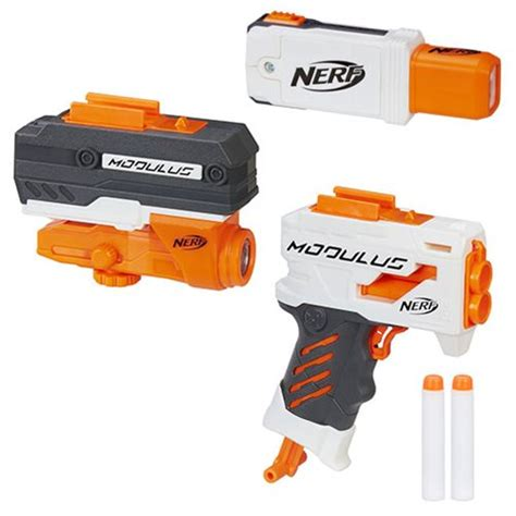 Discount Nerf Modulus Ecs 10 Blaster Pistol Nerf nerf modulus gear wave 1 set hasbro nerf at entertainment earth