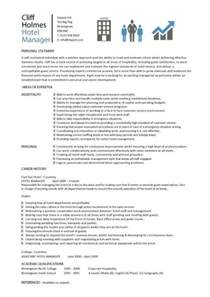 Hotel Manager Resume Template by Hotel General Manager Resume Template