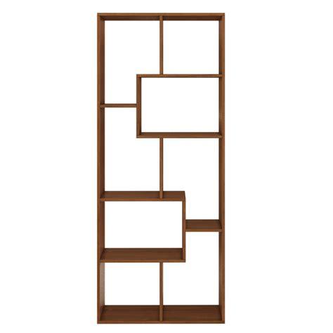 estantes leroy merlin estante decorativa madeira 8 nichos nogal 169x70x30cm