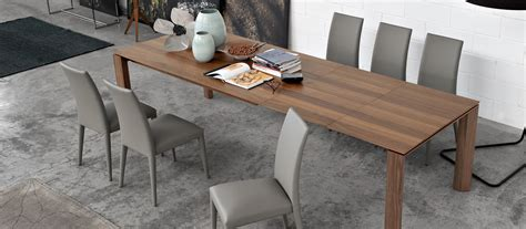 Extendable Dining Table Seats 12 by Calligaris Omnia 180 Xll Extendable Wooden Dining Table