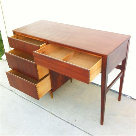 Mid Century Desk by Mid Century Teak Desk By Kroehler Omero Home