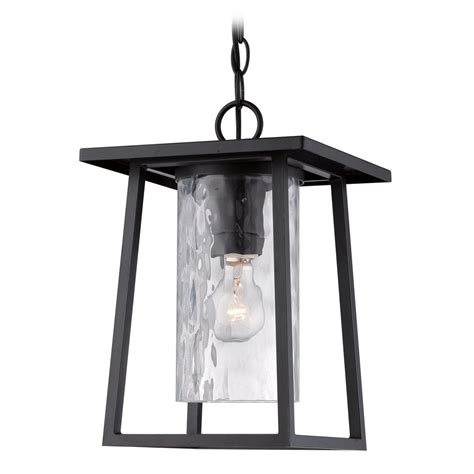 Quoizel Lodge Mystic Black Outdoor Hanging Light Outdoor Hanging Lights