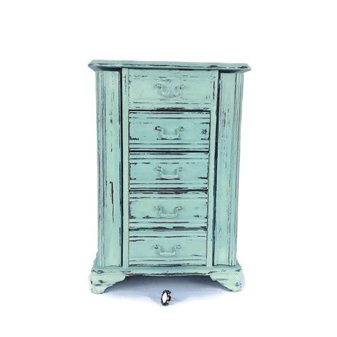 fabulous jewelry armoire blue jewelry box rustic jewelry