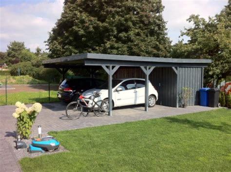 Carport Mit Schuppen by Best 25 Carport Mit Schuppen Ideas On Garage