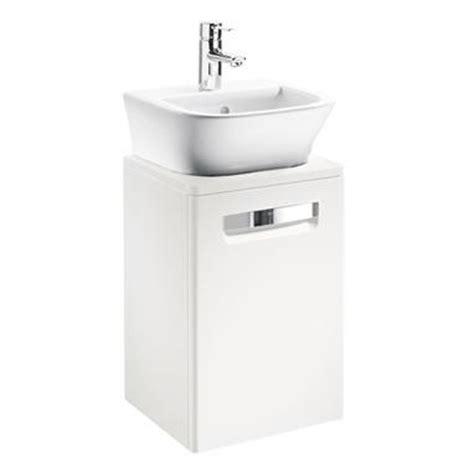 roca bathroom vanity units roca gap 400mm vanity unit and basin cloakroom vanity units