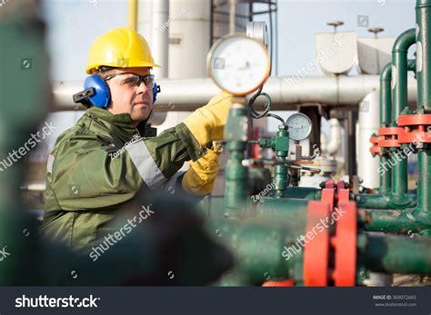 gas production operator stock photo 369072665 shutterstock