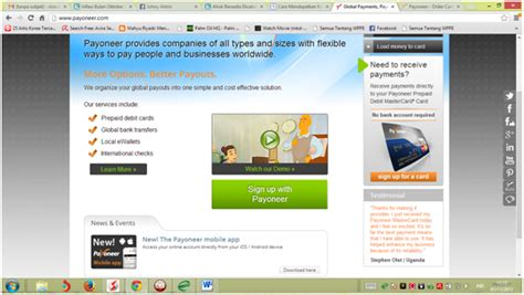 membuat kartu kredit di bank cara membuat kartu kredit di bank dan mastercard payoneer