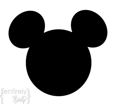 mickey mouse shape template entirely emily top 10 of your favorite posts of 2012