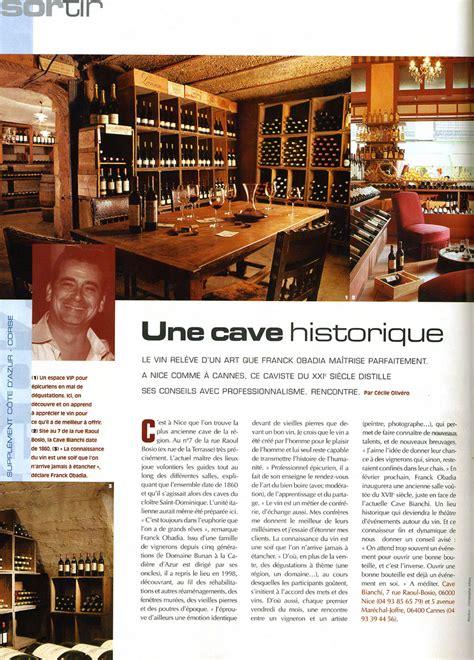 caves bianchi cours nologique vente de vin cannes