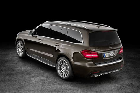 mercedes jeep 2017 2017 mercedes benz gls fully revealed speed carz