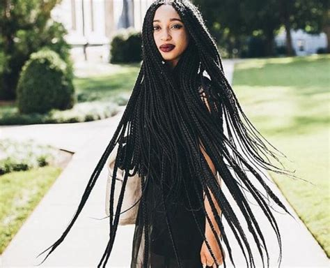 how much hair needed fluids box braids 63 box braid pictures that ll help you choose your next