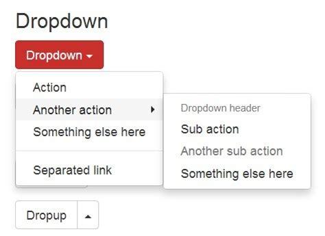 design dropdown menu bootstrap jquery plugin to create multi level bootstrap dropdowns