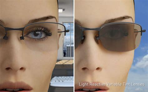 Light Reactive Variable Tint Lenses Stockton Glasses