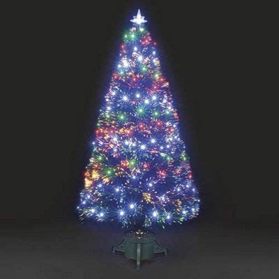 white fiberoptic trees with multi colored lights buy 6ft galaxy multi colour fibre optic tree with leds from our trees range