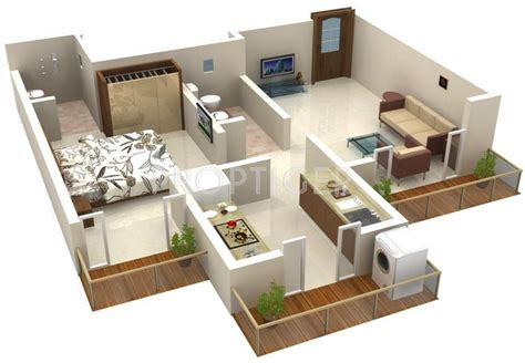 540 sq ft floor plan