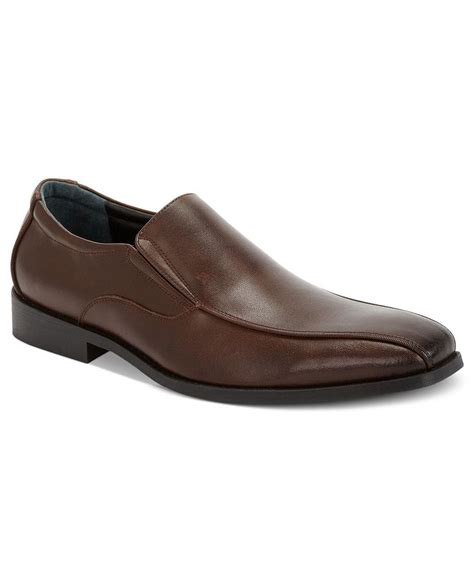 alfani shoes alfani cooper bike toe slip on shoes