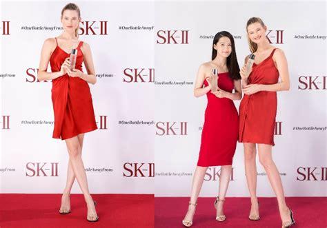 Sk Ii Jepang supermodel behati prinsloo ditantang brand kecantikan jepang