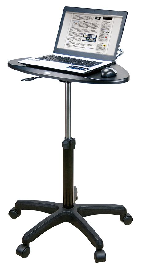 sit stand laptop desk upanatom sit stand mobile laptop desk paramount business