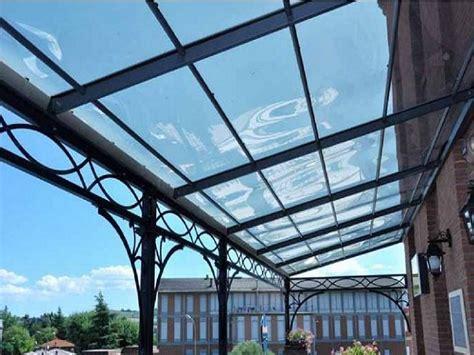 copertura tettoia trasparente coperture trasparenti
