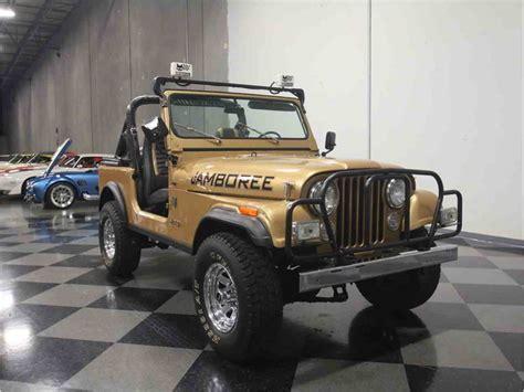 1982 jeep jamboree 1982 jeep cj7 jamboree 30th anniversary for sale