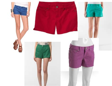 colored shorts fashionable bright colored shorts camo shorts