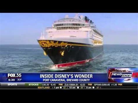 "inside revamped disney cruise ship ""wonder"" youtube"