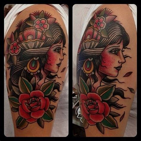 gypsy rose tattoos 25 best ideas about traditional tattoos on