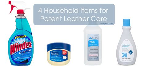 how to care for patent leather bags and shoes lollipuff