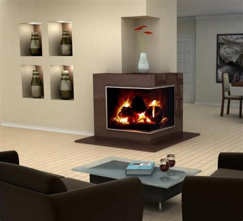 Modern Corner Fireplaces by 22 Ultra Modern Corner Fireplace Design Ideas