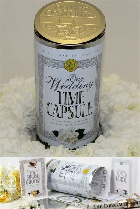 Best 25  Wedding time capsule ideas on Pinterest   Wedding