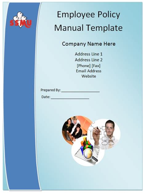 employee procedure manual template employee policy manual template guide help steps