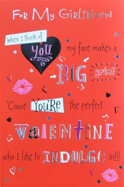 Gift Card For Girlfriend - valentine s day cards for girlfriend weneedfun